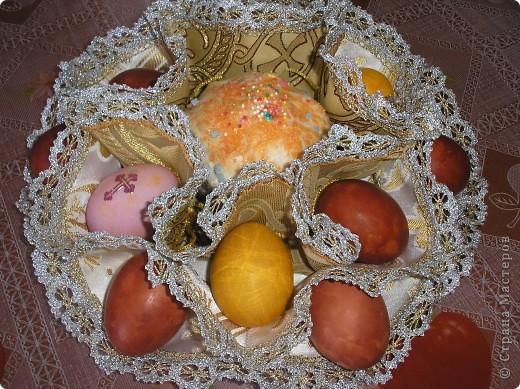 Как сделать салфетку для яиц и кулича на Пасху своими руками?