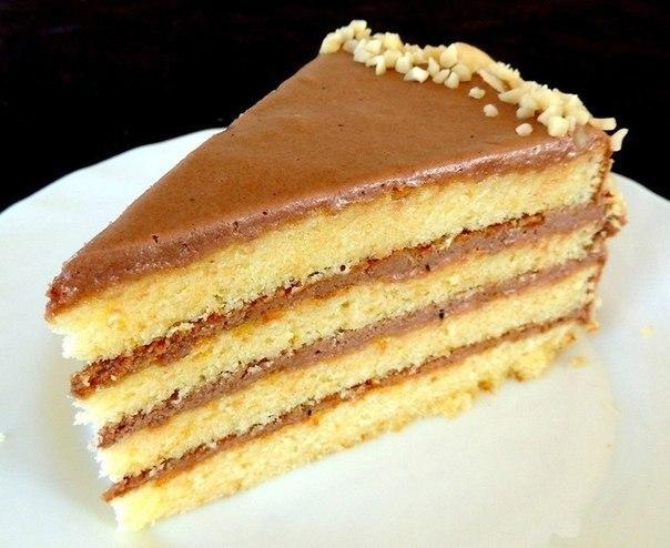Рецепты тортов со сгущенкой просто