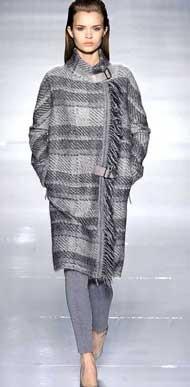 прямое пальто