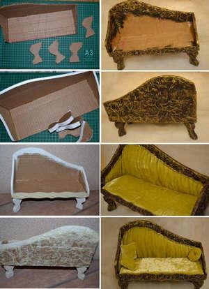 Как сделать мебель для кукол своими руками для монстр хай фото 183