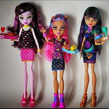 как сшить одежду для кукол своими руками, как сделать одежду для Монстр Хай, выкройки одежды для Монстр хай