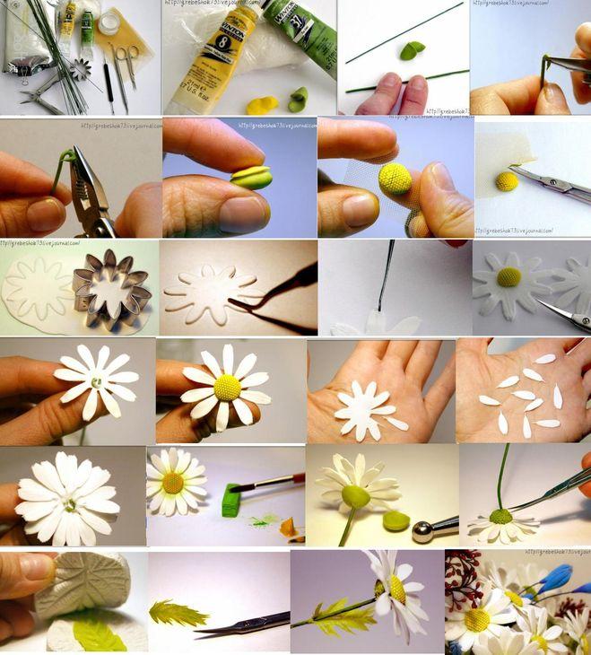 Цветы из мастики для начинающих пошагово
