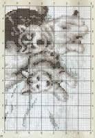 Вышивка крестом бесплатные схемы хаски