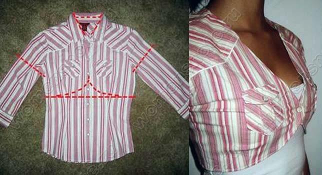Как сшить оригинальную блузку