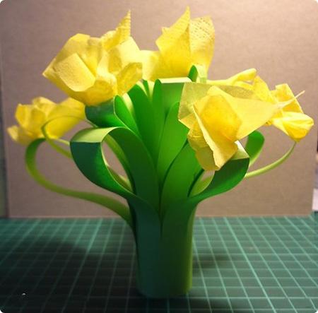 цветы из бумаги своими руками