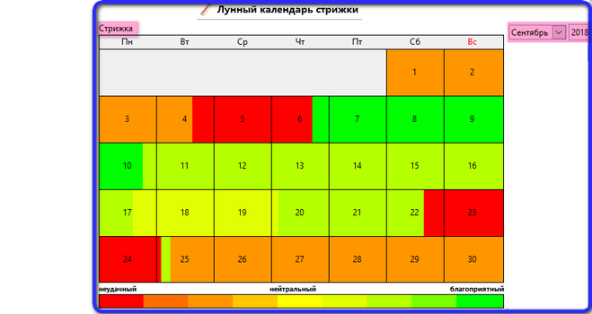 Подробный лунный календарь стрижки на октябрь года в мистика 0.