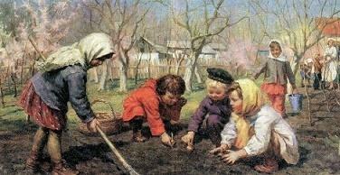 "Бортников ""Весна пришла"" описание"