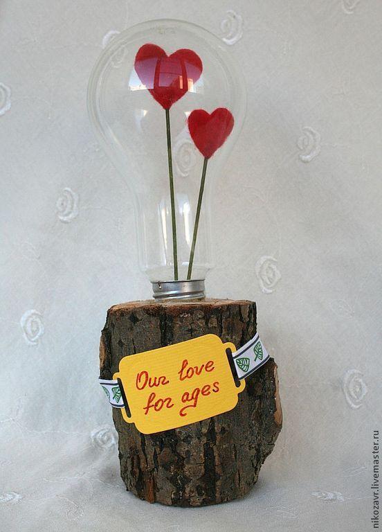 Как сделать романтический подарок своими руками из самых необычных средств?