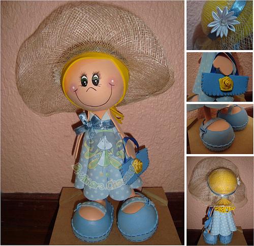 Куклы из фоамирана своими руками с пошаговым фото 71
