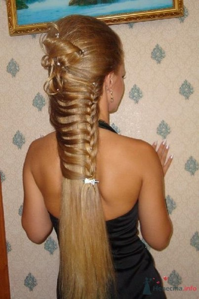 Прически из нарощенных волос своими руками из