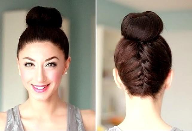 Прическа гулька на длинные и средние волосы - Твои локоны 48