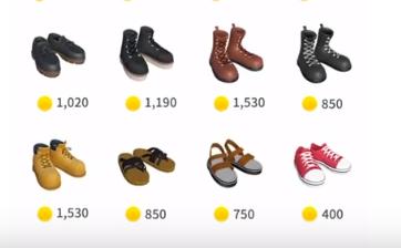 купить обувь в zepeto
