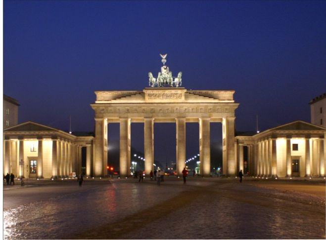 Бранденбургские ворота как нарисовать