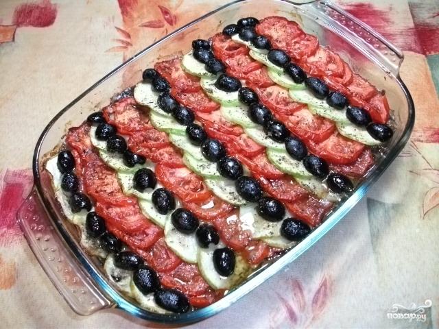 овощи по провански в духовке рецепт