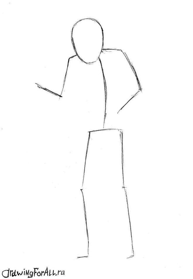 Как нарисовать простой рисунок на ногтях в домашних условиях пошагово фото