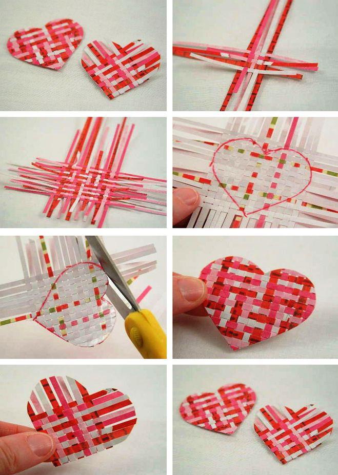 Как сделать валентинку из бумаг 30