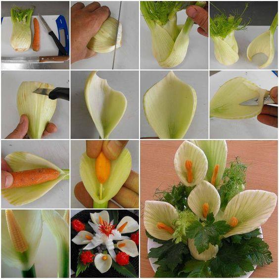 цветы из фенхеля