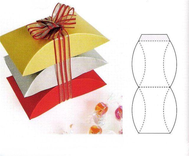 Как делать из бумаги коробочки для подарков своими руками 31