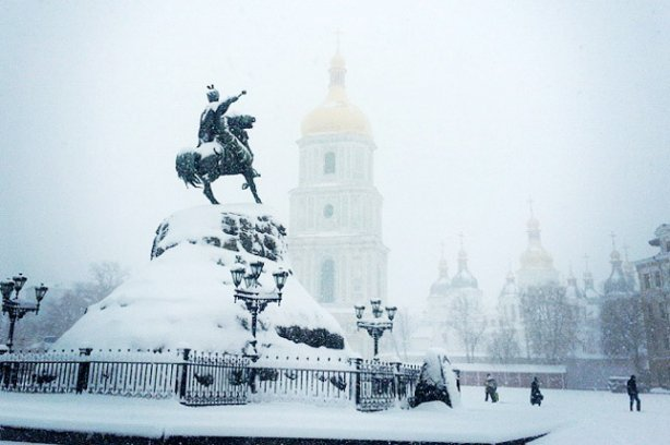 Когда выпадет первый снег в 2016 в Киеве?