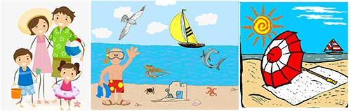 морской отдых на пляже