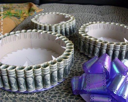 Подарок своими руками на свадьбу пошагово