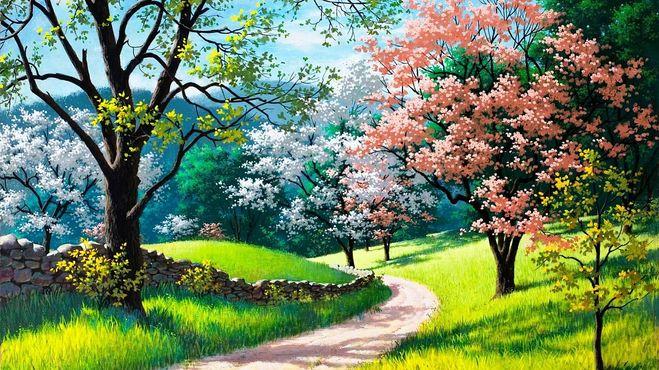 какой бывает весна, признаки весны