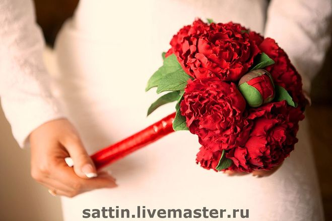 Как сделать свадебный цветок своими руками фото 998