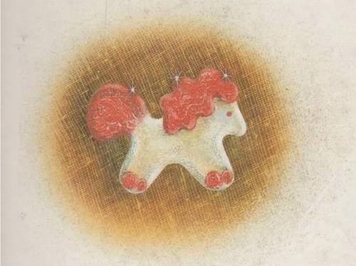 Конь с розовой гривой