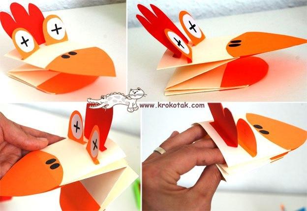 Игрушка из бумаги для детей