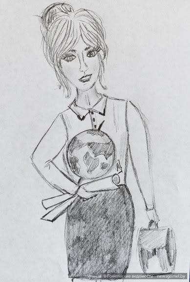 рисунок учительницы