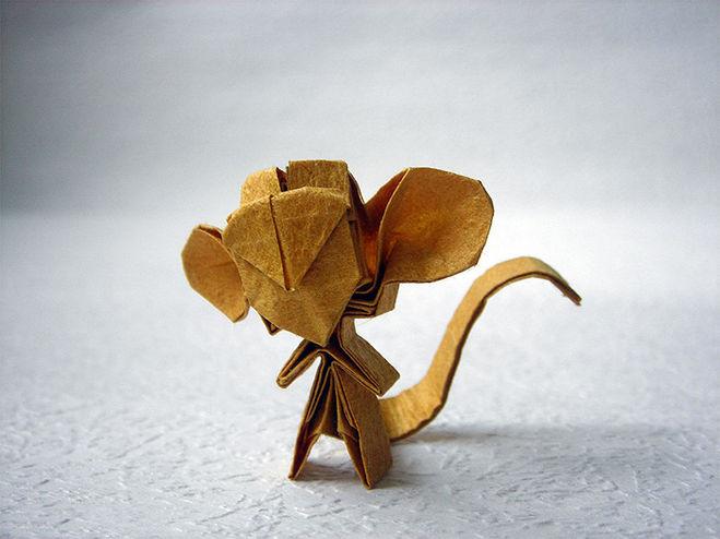 Оригами обезьян видео