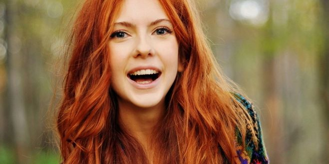 картинки необычные красивые девушка рыжая