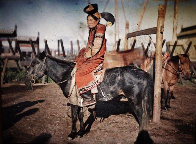 народный монгольский костюм