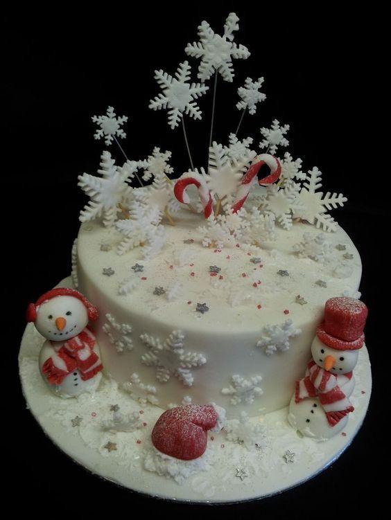 снежинка из айсинга для торта