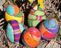 украшение яиц на Пасху своими руками