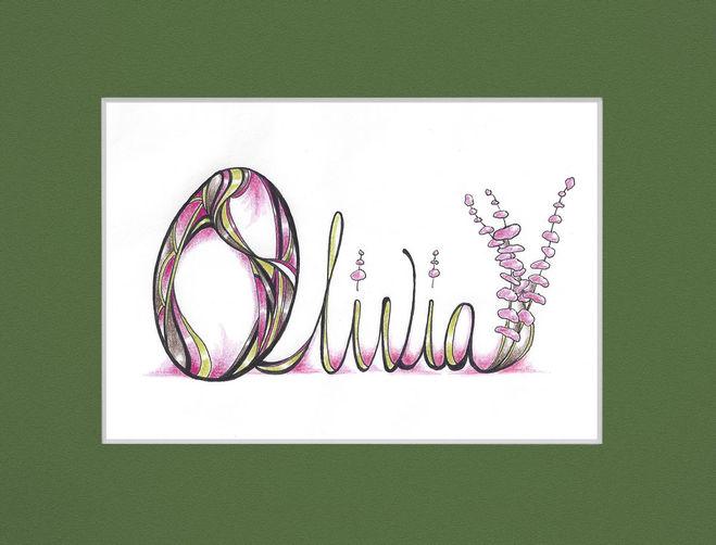 Вас краткая форма имени оливия дороге