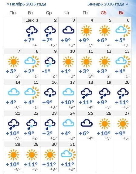 Какая погода в Анапе в декабре 2015? Прогноз погоды в Анапе в декабре 2015?