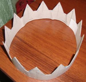 Короны из картона своими руками фото