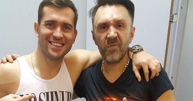 Шнуров и Кержаков, давние друзья