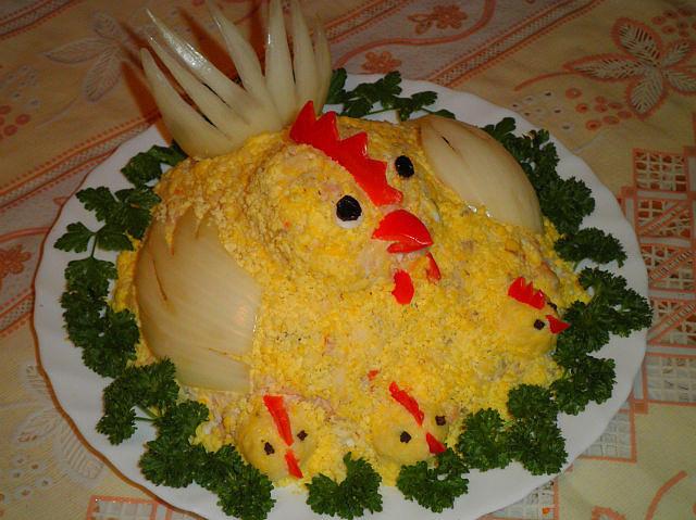 Салаты без курицы и яиц к новому году 2017 рецепты с фото
