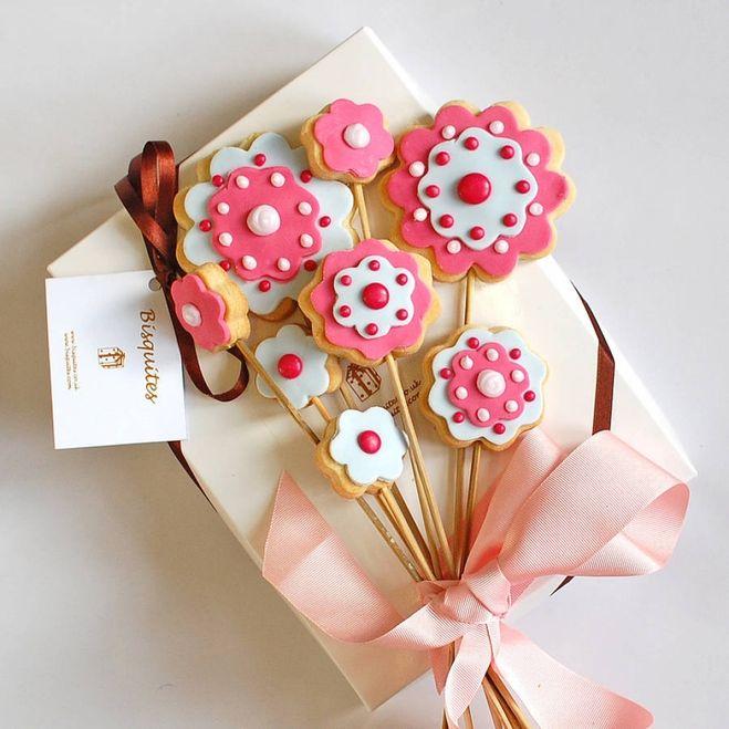 день матери - печенье
