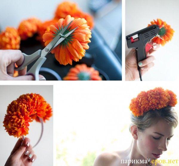Как сделать цветок из фатина своими руками