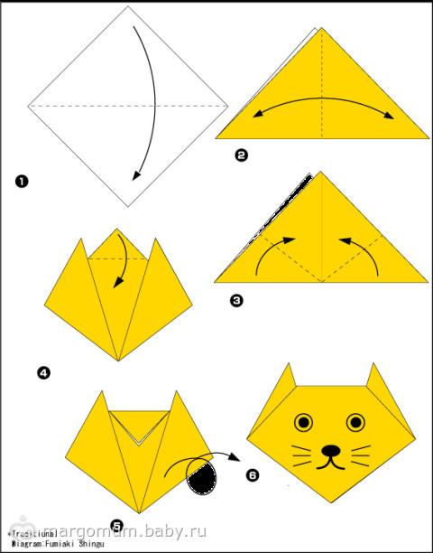 Как сделать из бумаги легко для детей