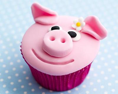 кексики в виде свинки