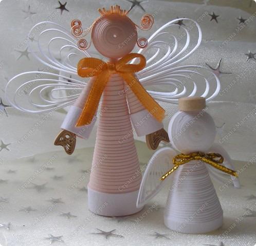Изготовление ангелочков своими руками