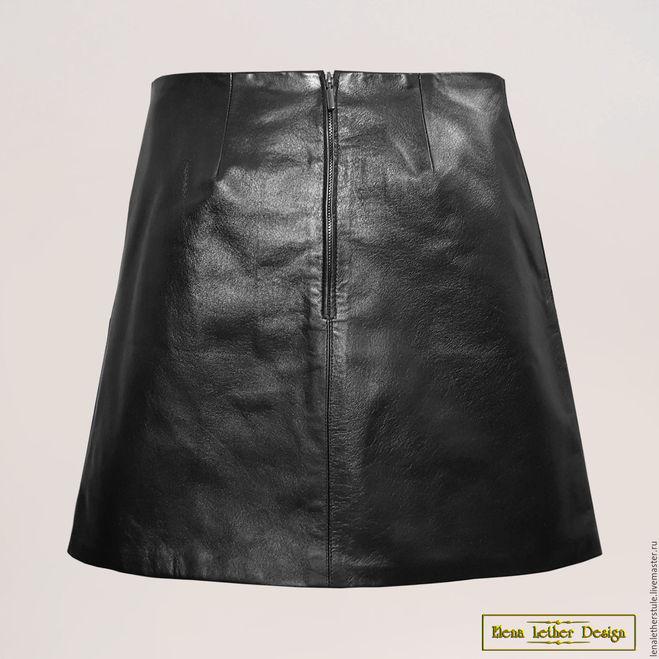 Шъём кожаную юбку своими руками 28
