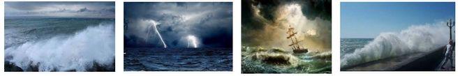"""шторм, каким бывает шторм, синонимы к слову шторм, прилагательные к слову """"шторм"""""""