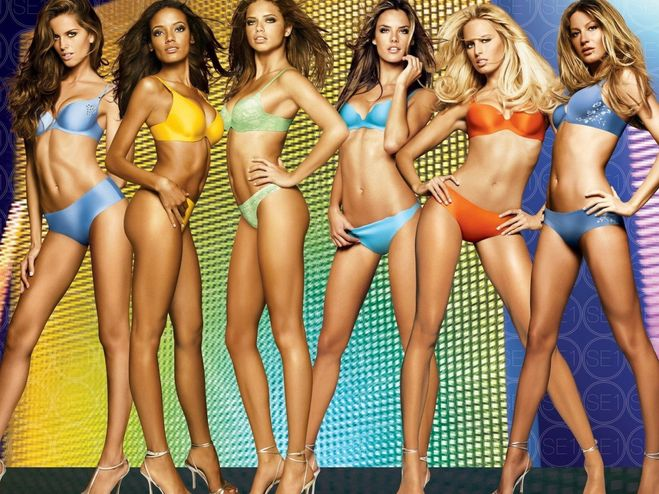 Секс с моделями виктории сикрет
