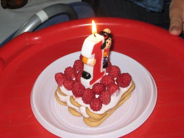 Испечь торт на годик