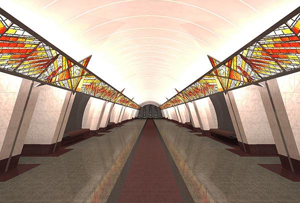 Когда будет открыто метро проспект славы